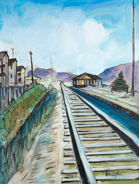 TrainTracks.2byBobDylanHalcyonGallery